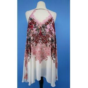 Free People Mini Slip Adjustable Strap Dress 4800